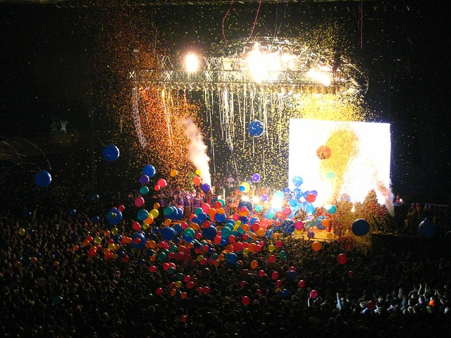 Flaming Lips @ Bill Graham Civic Center, Pre-New Years
