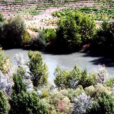Kizilirmak River in Kalecik Town
