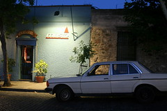 automobile, automotive exterior, executive car, family car, vehicle, mercedes-benz w123, compact car, antique car, sedan, land vehicle,