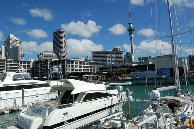 Z Newton Auckland auckland harbor | Flic...