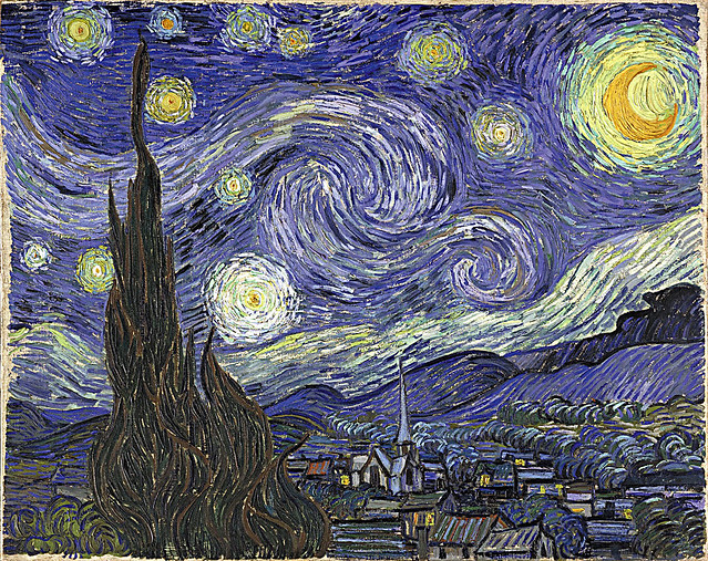 Van GoghStarry Night This Is One Of Goghs Best Known