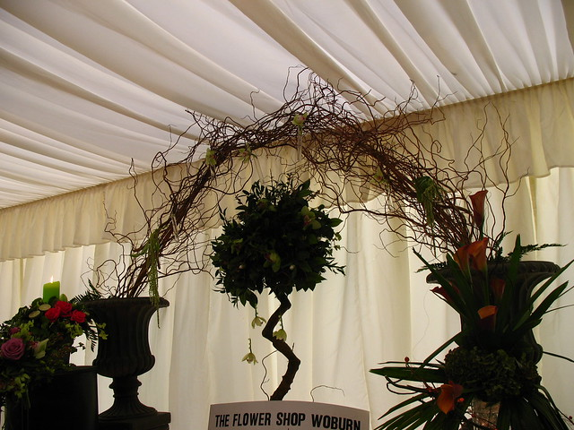 Orchid and Twig Archway