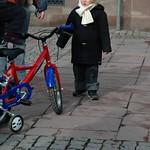 Cute Kid with a Bike - Strasbourg, France