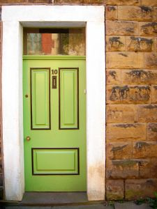Old Lime Door