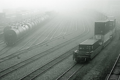 Foggy tracks
