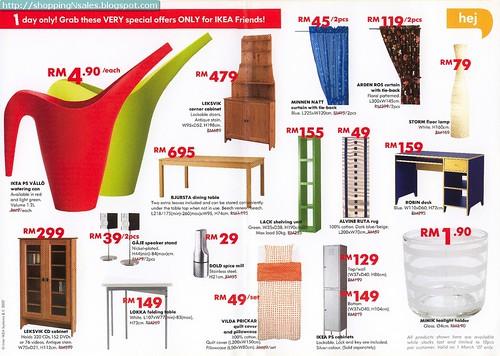 shoppingnsales blog 1 25 mar ikea sale. Black Bedroom Furniture Sets. Home Design Ideas