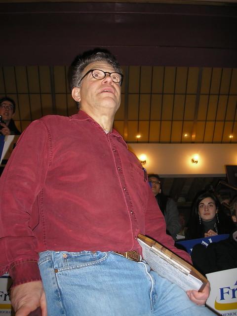 Header of Al Franken