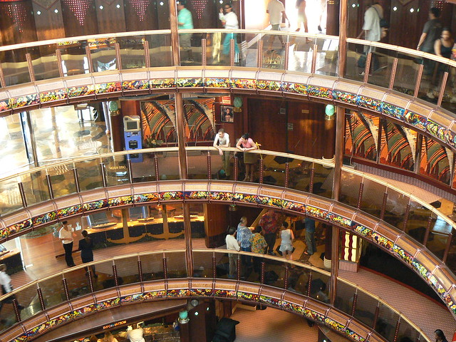 Inside Carnival Cruise Ship