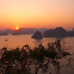 Beautiful Sunset - Halong Bay, Vietnam
