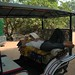 Man Napping at the Tuk-Tuk - Angkor, Cambodia