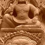 Banteay Srei Engraving - Angkor, Cambodia