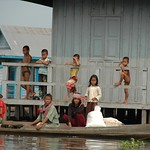 Kids on a Floating House - Battambang, Cambodia