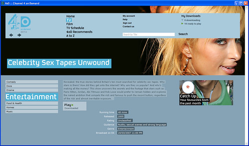 celebrity tape