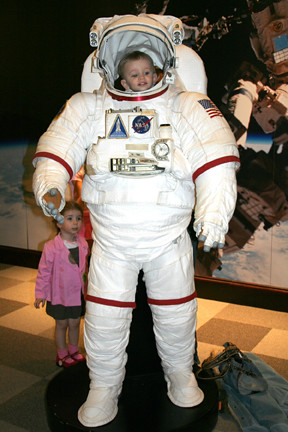 Astronaut That Was Wearing a Diaper - Pics about space