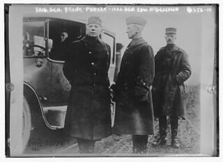 Brig. Gen. Frank Parker, Maj. Gen Edw. McGlachlin (LOC)