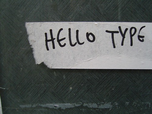 HELLO TYPE