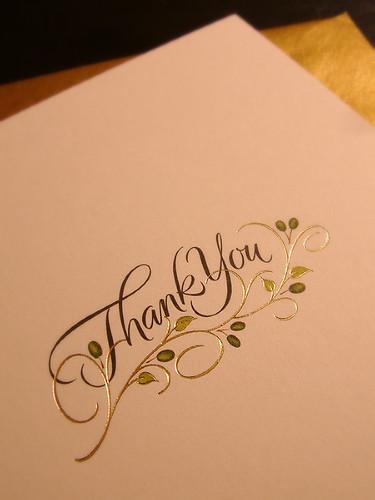 Thank You Cards by Faraz Dhishoom