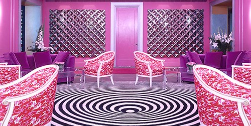 Pink room at g hotel, Galway