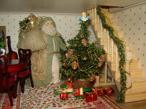 Father Christmas in the Doll's House by Anna Amnell