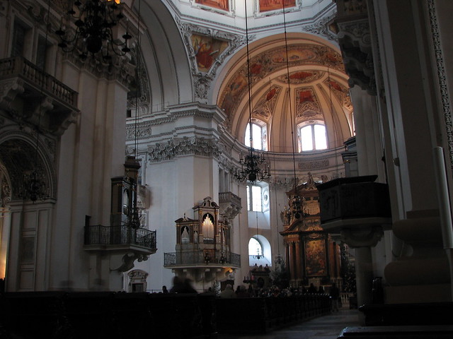 interior of salzburg cathedral flickr photo sharing