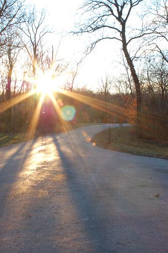 sunset sky sun d50 neighborhood sigma2870mm ƒ284