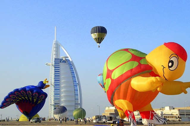 Hot air balloon deals dubai