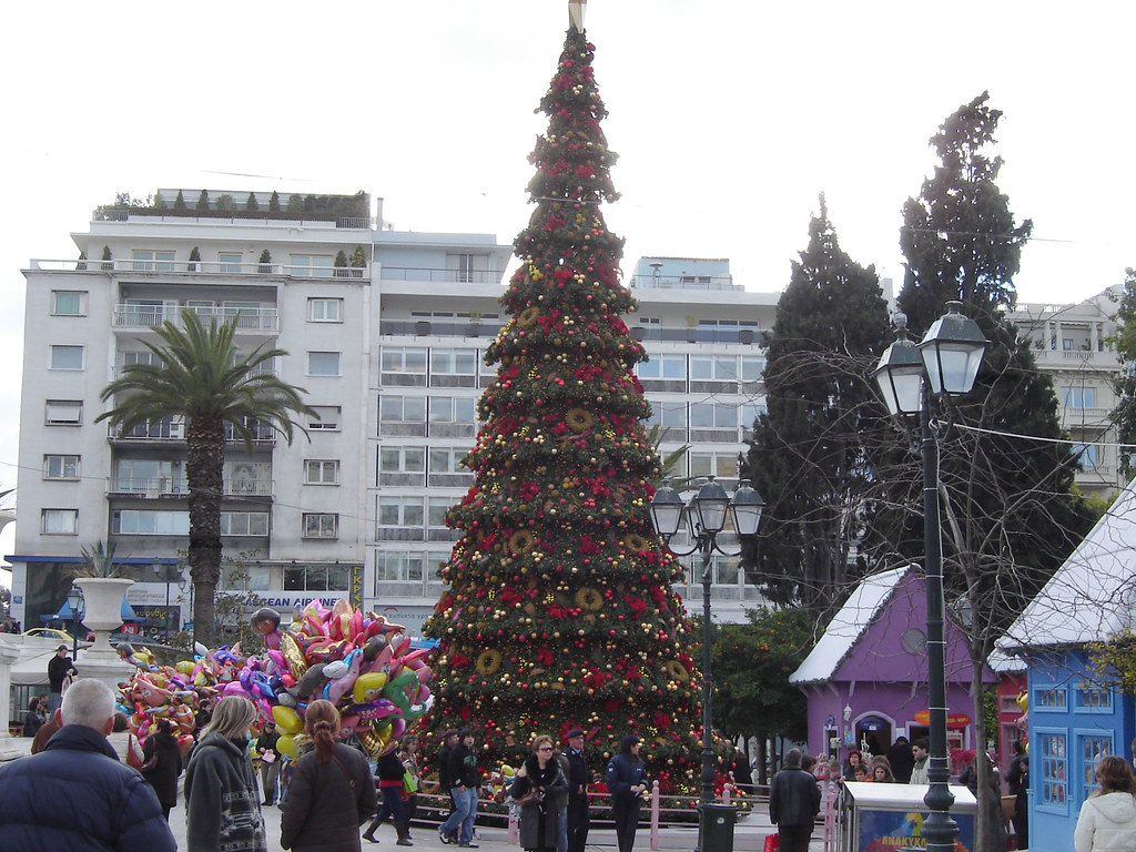 Christmas Tree at Syntagma