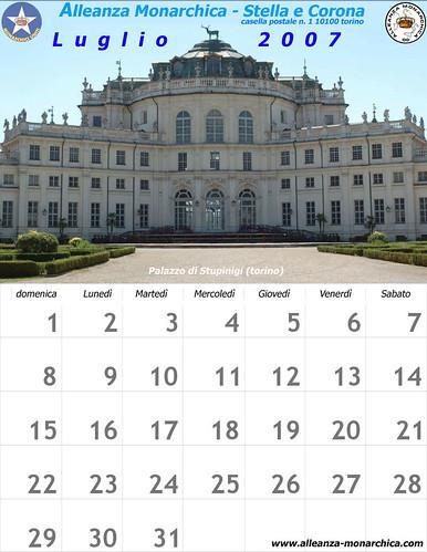 Calendario dei monarchici calendario di alleanza for Calendario camera dei deputati
