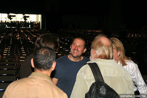 Jonathan Ive @ Macworld Expo 2007 Keynote