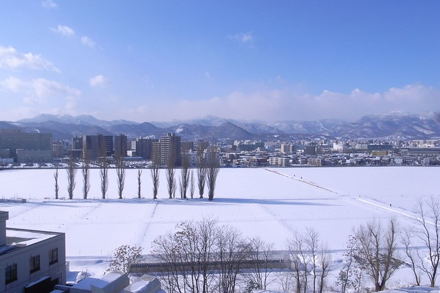 Sapporo in winter by CC user june29 on Flickr