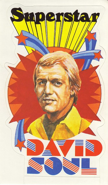 David Soul - Superstar - Starsky and Hutch - Sticker
