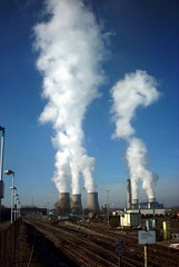 pollution, industry, electricity, power station, nuclear power plant,