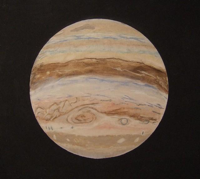 planet jupiter drawing - photo #5