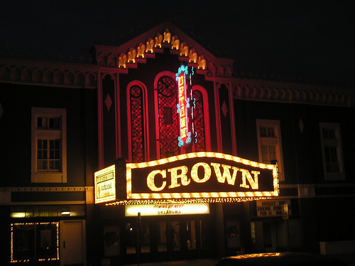 Crown Uptown at night by kawwsu29