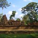Banteay Srei Temple Amidst Trees - Angkor, Cambodia