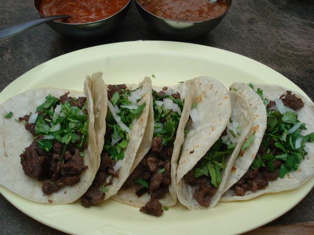 Tacos de carne asada | Flickr - Photo Sharing!