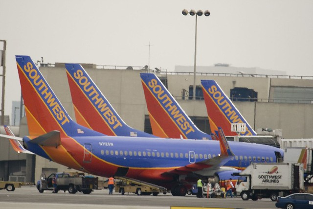 Southwest Airlines at LAX