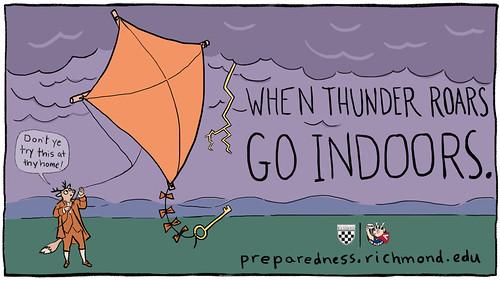 Thunderstorm - Go Indoors