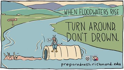 Flooding - Turn Around Don't Drown