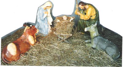 Nativity scene in Toronto