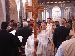 blessing(0.0), ritual(1.0), presbyter(1.0), deacon(1.0), clergy(1.0), religion(1.0), priest(1.0), bishop(1.0), priesthood(1.0), person(1.0), bishop(1.0), ceremony(1.0),