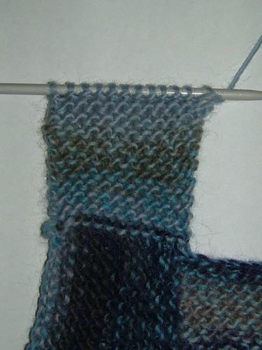 Knitting Casting Off Garter Stitch : Toggle knits pattern zig zag