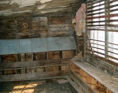 Abandoned Chicken Coop Interior