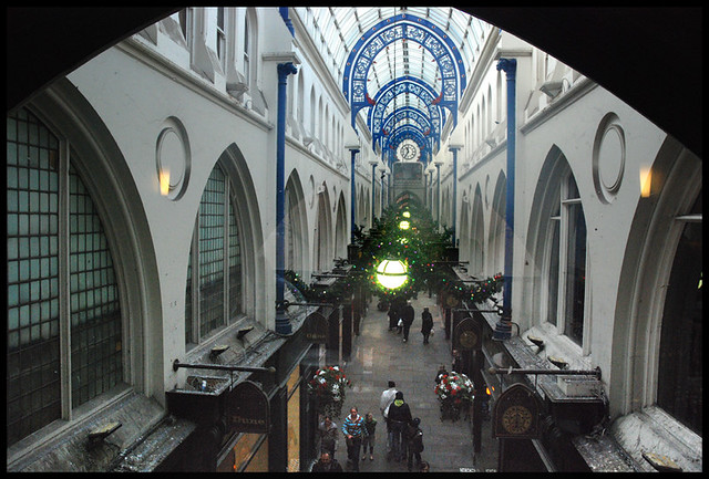 Thorton Arcade from Starbucks window