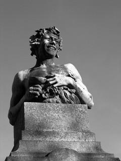 Obraz Baco. portugal statue wine porto bacchus baco oporto papao ptbw opapao inelsonrocha