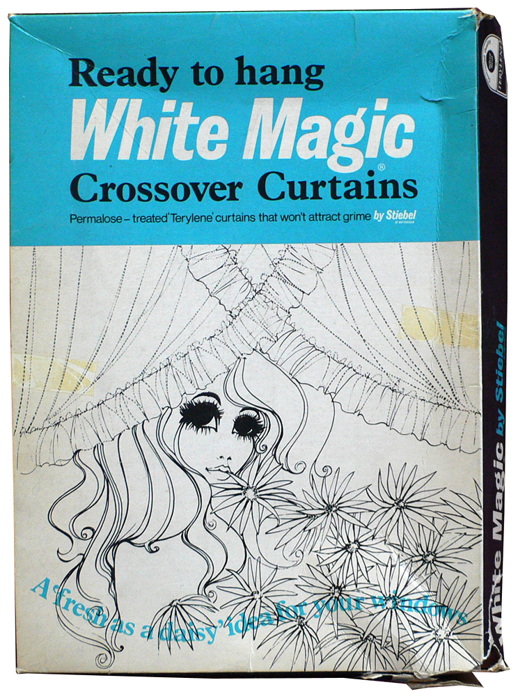 ready to hang white magic crossover curtains