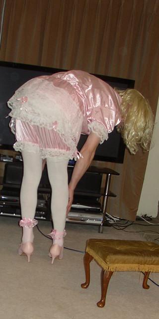 sissy boy bent over