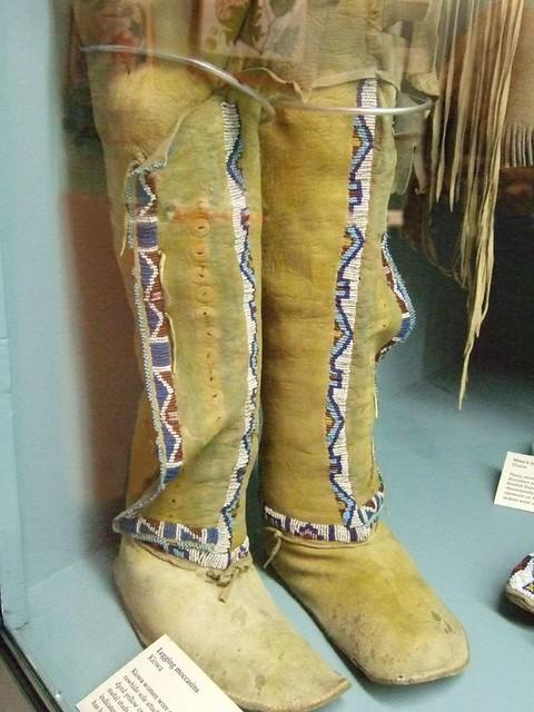 Kiowa Womens Legging Moccasins Native American 19th centur ...