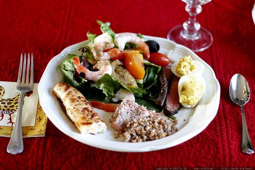 rachel's vegan lunch plate    MG 9616