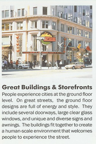 Principles of Great Streets, #4: Great Buildings & Storefronts
